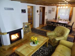 Chata Monika - Chata Monika - obývací pokoj
