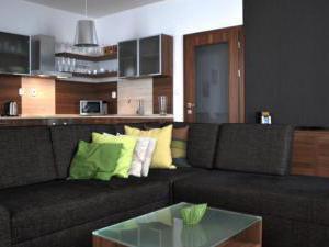 Apartmány Lomnica - Obývačka