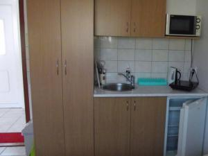 Apartmány u Františka - kuchynský kútik