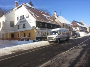 Horská chata Plzeňka  - Zimní foto