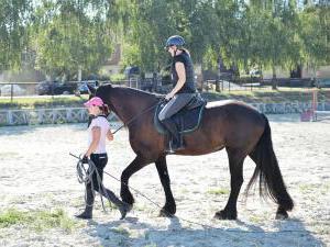 Dvůr Pecínov - Výuka jízdy na koni