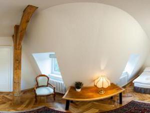Vila Olga - podkrovní pokoj č.6
