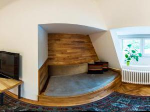 Vila Olga - podkrovní pokoj č.7 panorama