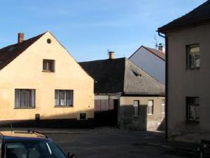 Rekreační dům Sedlec-Prčice - rekreační dům Sedlec-Prčice pohled z náměstí