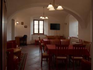 Penzion U sv.Jana - Penzion U sv.Jana, jídelna, společenská místnost