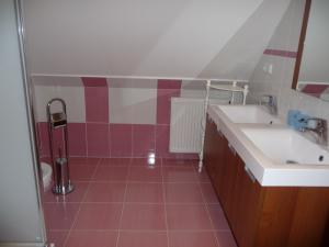Pension U Šrenků - Koupelna na apartmanu