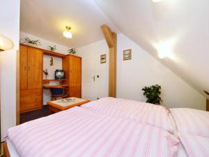 Pension U Šrenků - Rodinný pokoj s balkonem a 2 pokoji