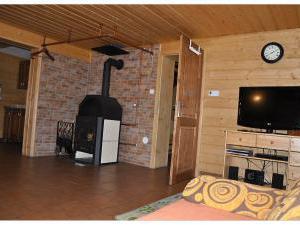 Chalupa 56 ubytování v Orlických horách - společenské místnost