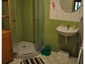 Chalupa 56 ubytování v Orlických horách - sprchový kout na chalupě