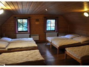 Chalupa 56 ubytování v Orlických horách - ložnice1