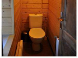 Chalupa 56 ubytování v Orlických horách - toaleta