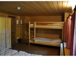 Chalupa 56 ubytování v Orlických horách - patrové postele ložnice 3