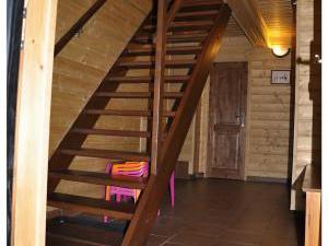 Chalupa 56 ubytování v Orlických horách - schodiště
