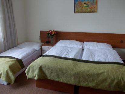 Pokoj v pražském hotelu Florenc