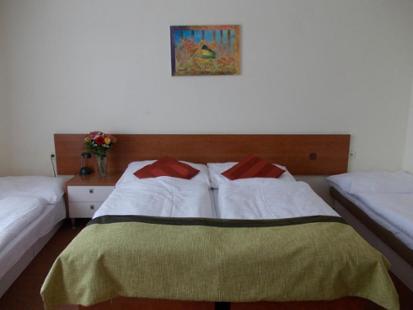 Florenc - hotelový pokoj Praha