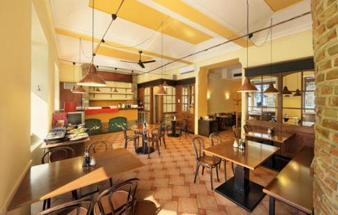 restaurace a hotel v Praze na florenci