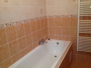 Penzion Grasel  - Koupelna - vana - 1 lůžkový pokoj