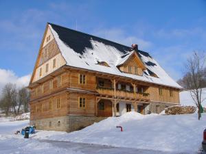 Samota Adelheid  - Samota Adelheid v zimně