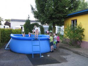 Autokemp - ubytovna SK Mšeno - letní bazén pro děti i dospělé