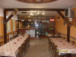 Autokemp - ubytovna SK Mšeno - restaurace - výčep