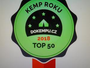 Autokemp - ubytovna SK Mšeno - kemp roku 2018  TOP 50 v ČR