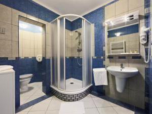 Hotel Salvator - Hotel Salvator, koupelna - dvoulůžkový / třílůžkový pokoj