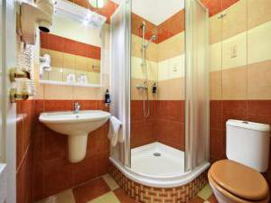 Hotel Salvator - Hotel Salvator, koupelna - jednolůžkový / dvoulůžkový pokoj