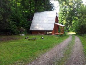 Chata Pastviny - Chata na samotě u lesa