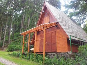 Chata Pastviny - Chata s terasou