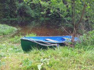 Chata Pastviny - Chata s loďkou