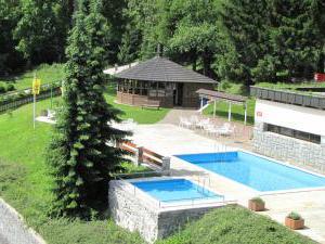 Zotavovna  Přední Labská - Bazény s altánkem