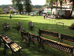 Hotel Týnec - Obřady v zahradě