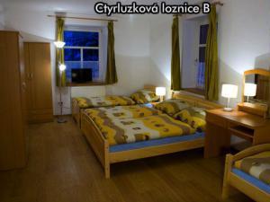 Apartmány Na Zlaté stezce *** (Stožec - České Žleby) - Čtyřlůžková ložnice B