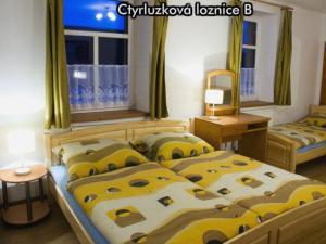 Apartmány Na Zlaté stezce *** (NP Šumava - Stožec - České Žleby) - Čtyřlůžková ložnice B