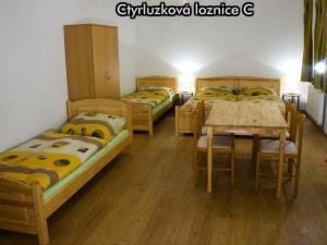 Apartmány Na Zlaté stezce *** (Stožec - České Žleby) - Čtyřlůžková ložnice C