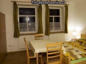 Apartmány Na Zlaté stezce *** (Stožec - České Žleby) - Třílůžková ložnice D