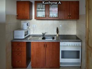 Apartmány Na Zlaté stezce *** (Stožec - České Žleby) - Kuchyně A