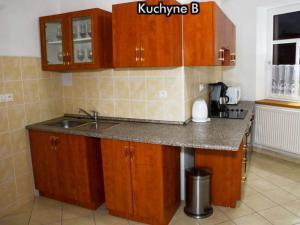 Apartmány Na Zlaté stezce *** (NP Šumava - Stožec - České Žleby) - Kuchyně B