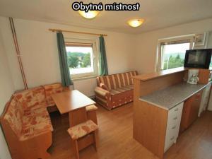 Apartmány Almberg *** (skiareál Mitterdorf) - Obytná místnost