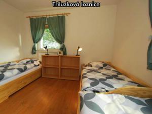 Apartmány Almberg *** (skiareál Mitterdorf) - Třílůžková ložnice