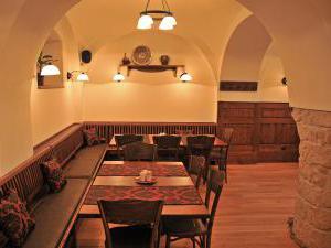 PENZION NA FAŘE - Pohled do restaurace