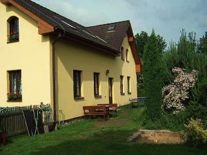 Chalupa pod Melechovem - Vchod do penzionu ze zahrady