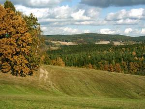 Chalupa pod Melechovem - Krajina kousek za zahradou