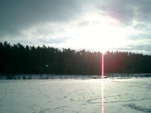 Pension Vital   Vital-Park Drahotín - slunečné pláně v zimě