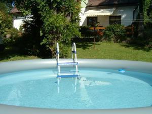 Chata Horní Lánov - bazén