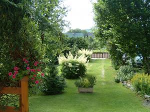 Chata Horní Lánov - zahrada