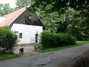 Konírna - rodinný dům - Mařeničky 83 - boční pohled
