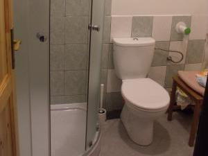 Konírna - rodinný dům - Sociální zařízení se sprchovým koutem