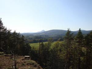 Konírna - rodinný dům - Pohled na Lužické hory