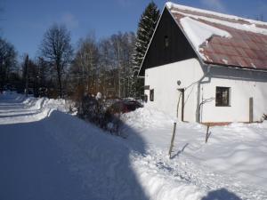 Konírna - rodinný dům - Mařeničky 83 v zimě
